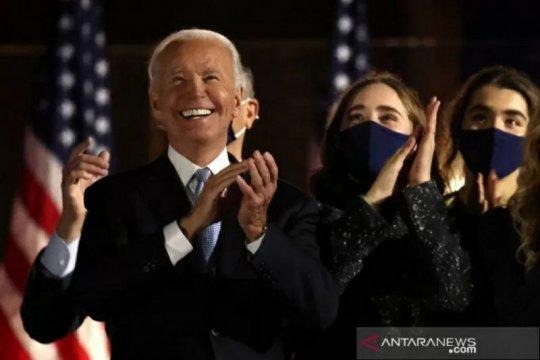 Usai terpilih, Biden telepon pemimpin Jepang, Korea Selatan, Australia