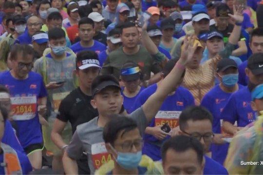 10.000 peserta ramaikan ajang Hangzhou International Marathon 2020