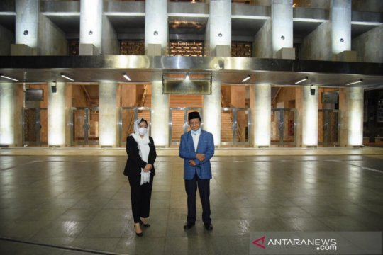Ketua DPR harap Istiqlal jadi pusat dakwah dan simbol persatuan