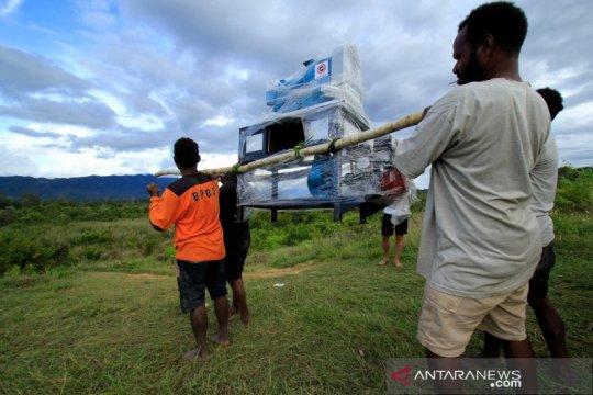 Pemerintah Inggris bantu petani dua kabupaten di Papua