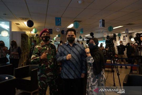 Kementerian BUMN beri beasiswa anak berprestasi anggota TNI-Polri