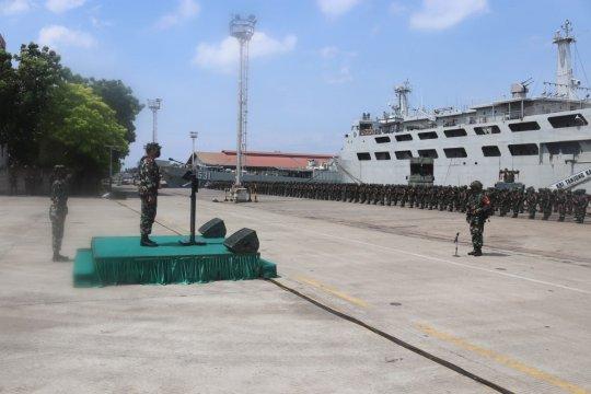 Ribuan prajurit TNI AD ikuti latihan tempur di Puslatpur Kodiklat