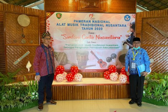 Sultra pamerkan alat musik tradisional pada Pameran Nusantara di Ambon