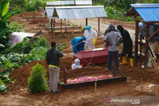 Empat meninggal dan 34 kasus baru COVID-19 di Kabupaten Cirebon