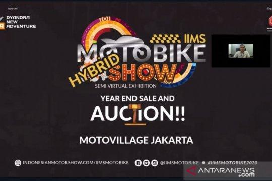 IIMS Motobike Hybrid Show hadirkan lelang produk harga terjangkau