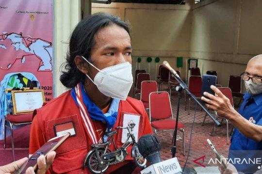 Di Hari Pahlawan, Mahir tuntaskan keliling Indonesia dengan sepeda