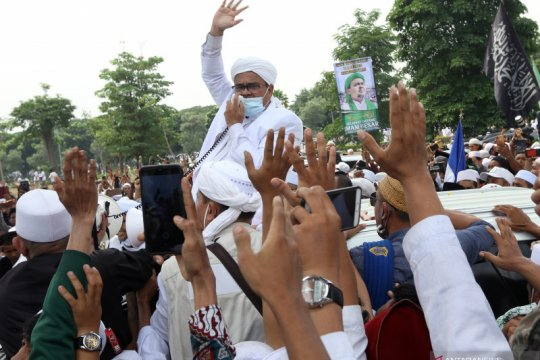 Tidak ada bukti baru dua kasus Rizieq Shihab di Polda Jabar dihentikan