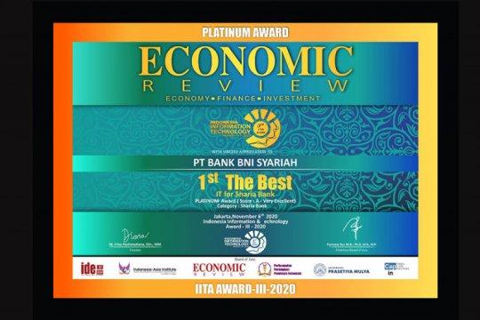BNI Syariah dapat penghargaan Indonesian IT Award 2020