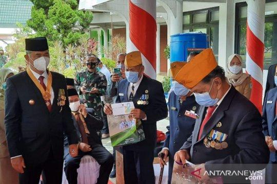 Kota Jambi berikan tali asih kepada veteran