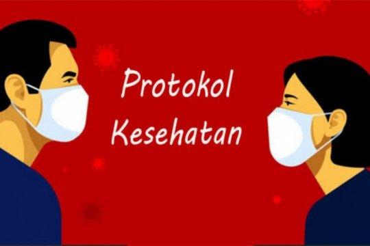 BPBD imbau warga terdampak erupsi Sinabung terapkan protokol kesehatan
