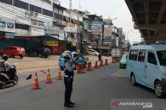 Kota Bekasi alihkan lalu lintas Jalan KH Noer Ali