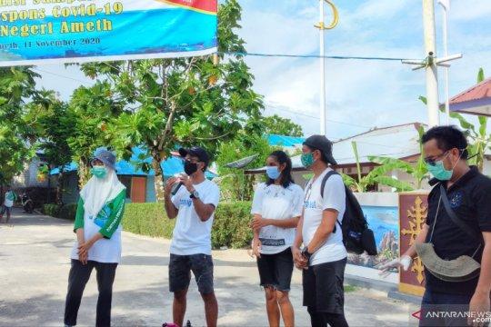 "Kaka dan Ridho ""Slank"" ajak anak muda Nusa Laut terapkan 3M"