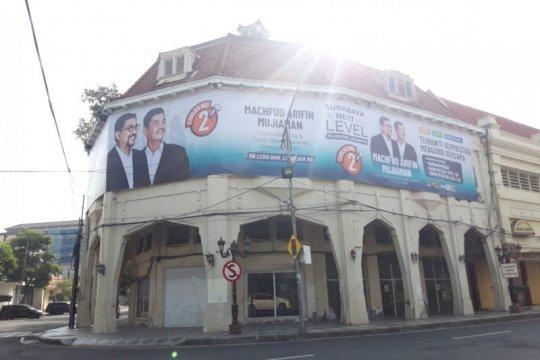 TACB : Pemasangan APK MA-Mujiaman di cagar budaya Surabaya tanpa izin