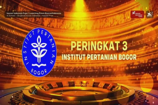 IPB raih perguruan tinggi terinovatif 2020 versi Kemristek/BRIN