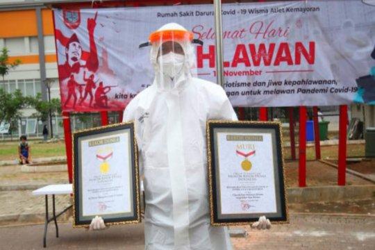 RSD Wisma Atlet meraih dua rekor Muri pada peringatan Hari Pahlawan