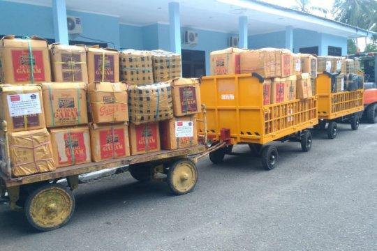 Puluhan ribu sagu bakar dikirim ke Jakarta untuk bantuan COVID-19