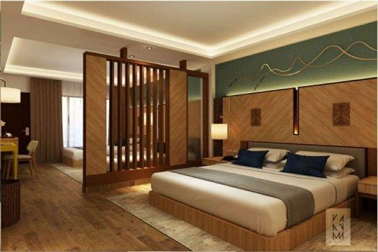 Inna Parapat di tepi Danau Toba bersiap jadi  hotel bintang 4