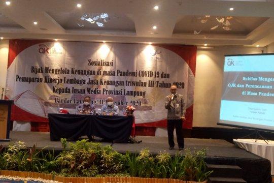 OJK: Kinerja jasa keuangan terjaga dorong pertumbuhan ekonomi Lampung