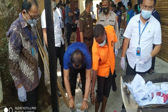 Dit Narkoba Papua musnahkan ganja dan sabu-sabu milik 17 tersangka