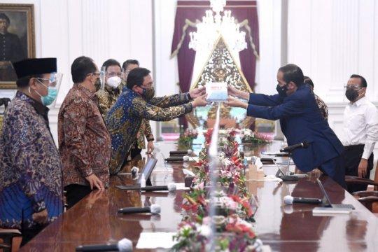 Presiden terima Laporan Hasil Pemeriksaan Semester I dari BPK