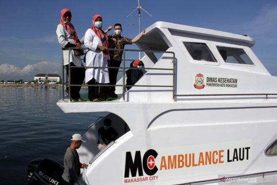 Pengoperasian ambulans laut ke pulau-pulau