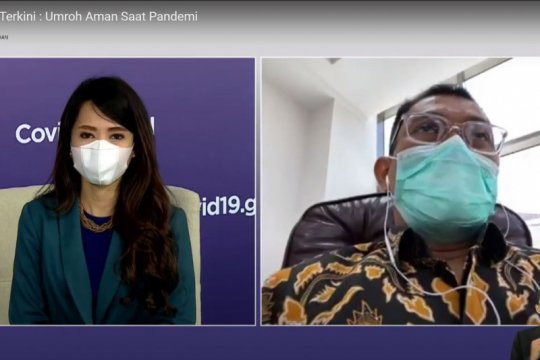 Kemenag: Umrah saat pandemi terus dievaluasi
