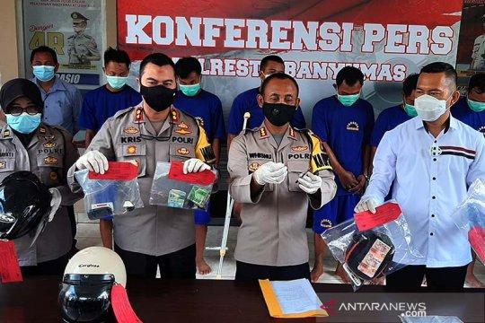 Polresta Banyumas ungkap sindikat pencurian sepeda motor