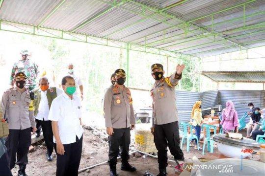 Kapolda kunjungi lokasi pengungsian bencana erupsi Merapi