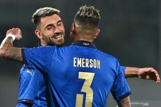 Vincenzo Grifo ukir dwigol saat Italia menang 4-0 atas Estonia