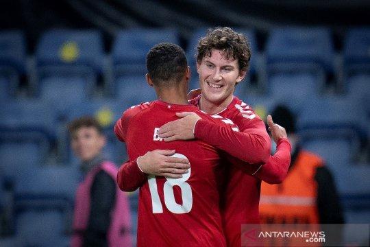 Dua debutan bawa Denmark atasi Swedia dalam laga persahabatan