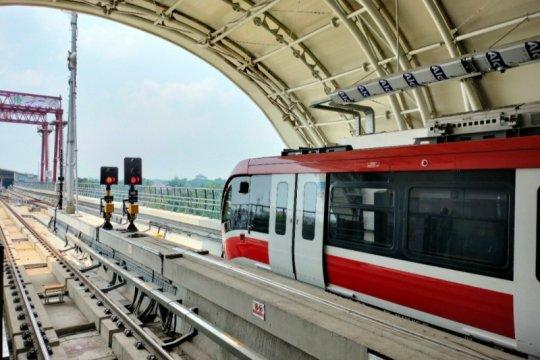 Pembangunan LRT Jabodebek  mendekati 80 persen