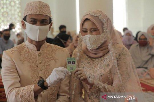 Meski pandemi, 3.840 pasangan nikah di Aceh sepanjang Oktober 2020