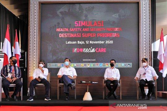 Luhut usul simulasi protokol 3K dilaksanakan di Mandalika
