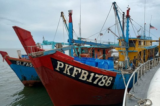 KKP ringkus dua kapal ikan asing berbendera Malaysia