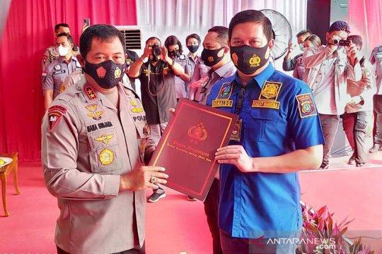 Ungkap kasus narkoba terbanyak, Polres Jakbar raih penghargaan