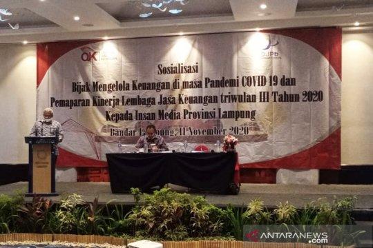 OJK Lampung catat restrukturisasi kredit perbankan capai Rp6,9 triliun