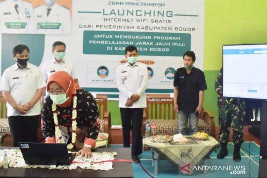 """Dukung PJJ, wifi gratis dipasang di 240 """"blank spot"""" di Bogor"""
