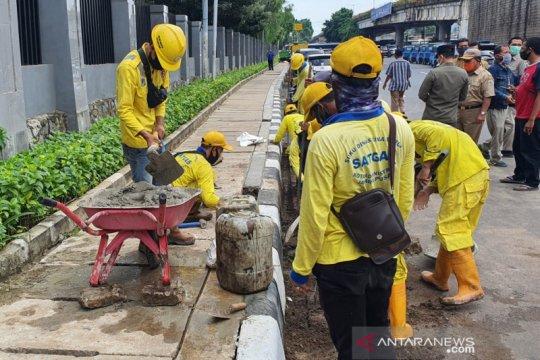 Jakarta Pusat perbaiki 826 mulut dan tali air antisipasi banjir