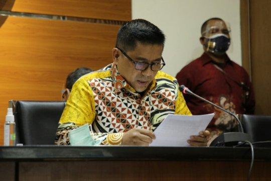 KPK tahan Kepala BPPD Labuhanbatu Utara Agusman Sinaga