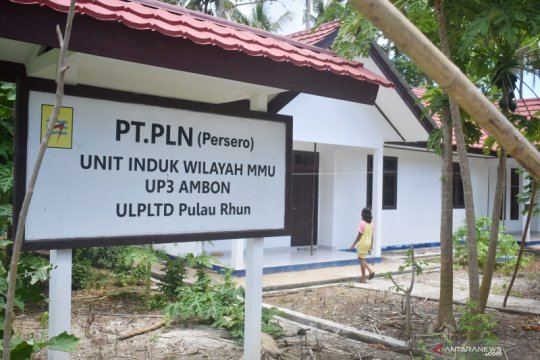 Warga Pulau Rhun di Maluku belum dapat rasakan listrik negara