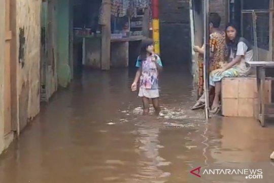 Kawasan padat hunian di Kebon Pala terendam luapan Ciliwung