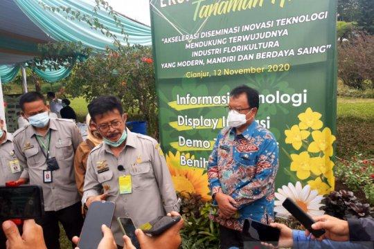 Dongkrak ekspor, Kementan pacu inovasi varietas tanaman hias