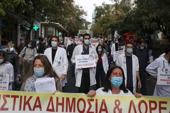 """Yunani peringati hari perjuangan mahasiswa 1973 di tengah """"lockdown"""""""