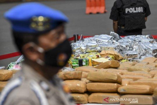 Pembawa 208 kg sabu-sabu di Kalimantan Selatan divonis mati