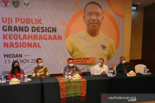 Pemerintah uji publik grand-design olah raga nasional di Medan
