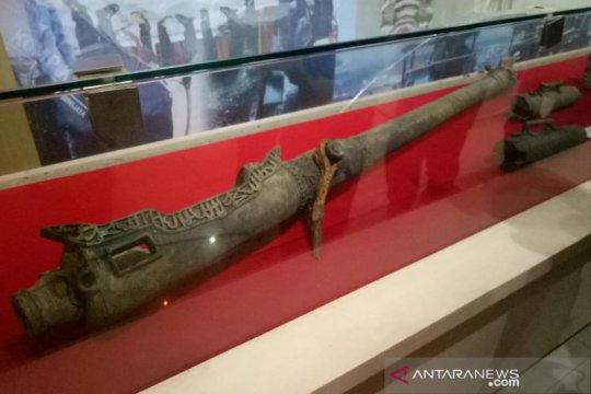 Meriam langka dipamerkan di museum Kota Palembang