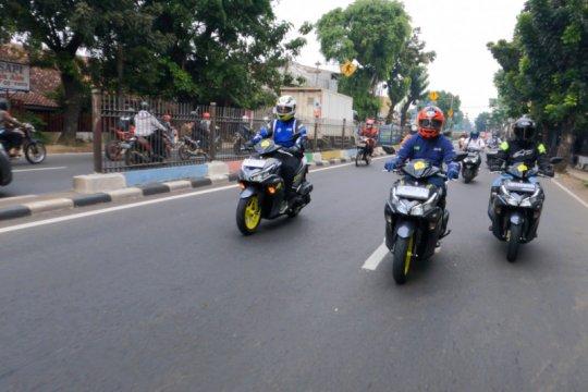 Yamaha Aerox 155 Connected dijajal Jakarta-Sentul, apa plus-minusnya?