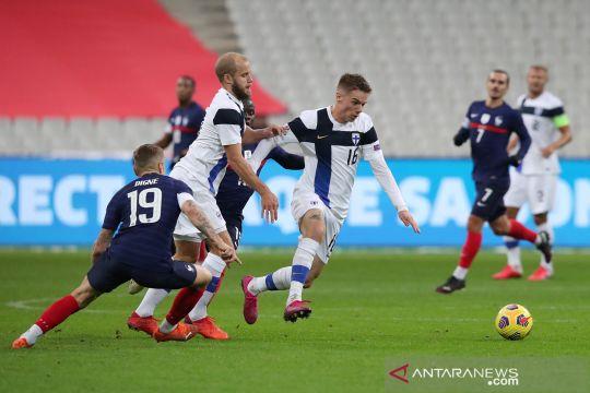 Prancis ditekuk Finlandia 0-2