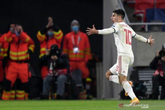 Hongaria amankan tiket putaran final EURO setelah tundukkan Islandia
