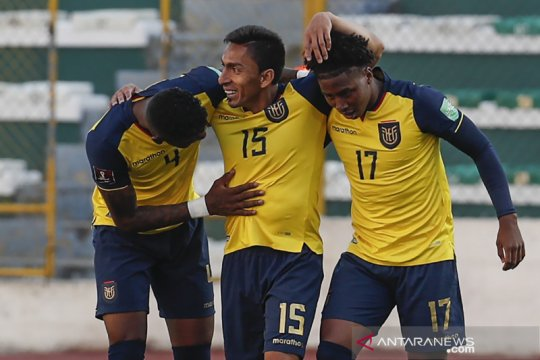 Ekuador curi kemenangan 3-2 di markas Bolivia